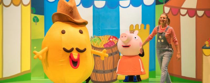 Review Of Peppa Pig S Big Splash The Tour Kids Out And About Salt