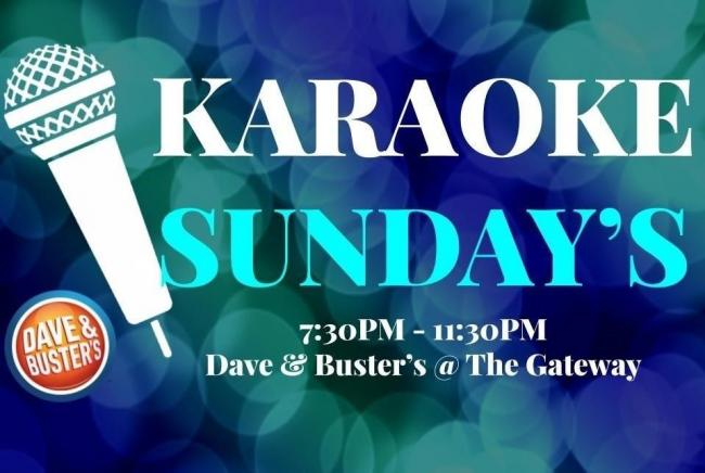Karaoke Sundays at Dave & Buster's | Kids Out and About Salt