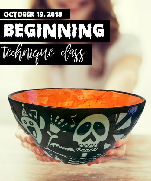 Beginning Technique – Happy Skeleton Candy Bowl -As You Wish