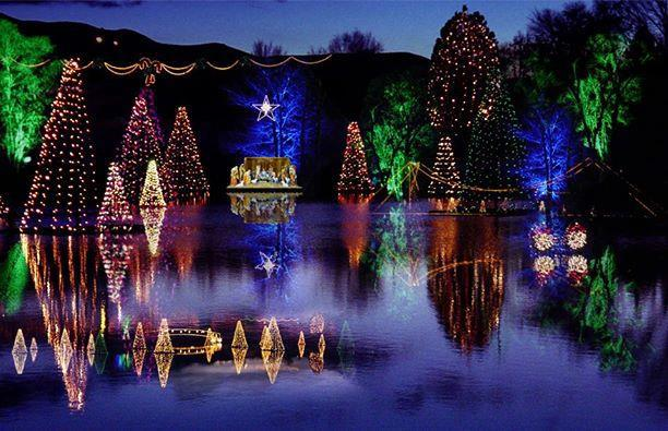 Enjoy This Free Holiday Light Display At Salem Pond In Salem, Utah. Pond  Town Christmas Runs From November 25, 2016 To January 2, 2017.
