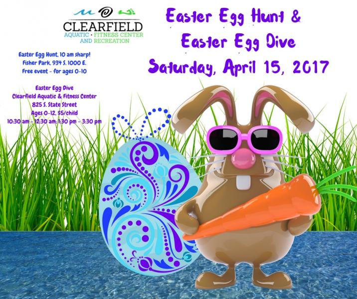 Clearfield Easter Egg Hunt and Dive
