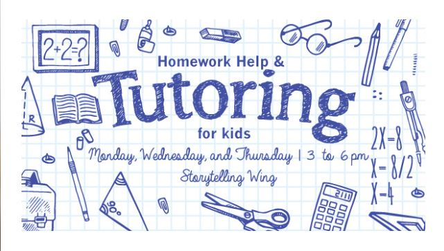 Tutoring at Orem Public Library